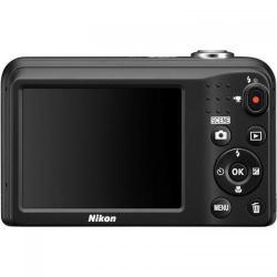 Camera foto Nikon COOLPIX A10, 16.1Mp, Black + Husa + Card 4GB + Incarcator + 2 acumulatori