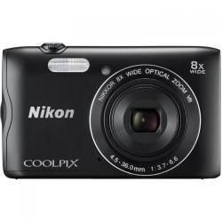 Camera Foto Nikon COOLPIX A300, 20.1Mp, Black