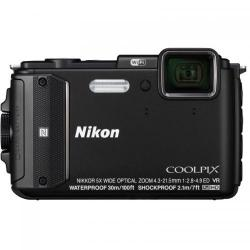 Camera Foto Nikon COOLPIX AW130 Negru + Diving Kit