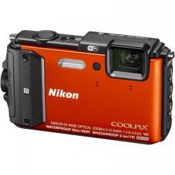 Camera Foto Nikon COOLPIX AW130 Portocaliu + Diving Kit