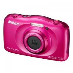 Camera Foto Nikon COOLPIX S33 Waterproof 14MP, roz