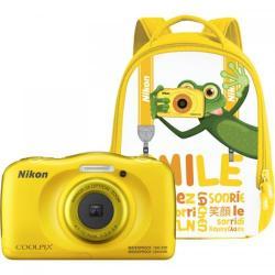 Camera foto Nikon COOLPIX Watterproof W100, Backpack kit, 13.2Mp, Yellow