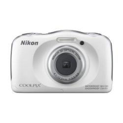 Camera Foto Nikon Waterproof S33, white + acumulator EN-EL19 + incarcator EH-71P + curea AN-CP19 + rucsac