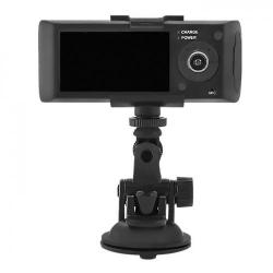 Camera Video Auto Qoltec 50201, HD, GPS, LCD 2.7inch, G-senzor, Black-Grey