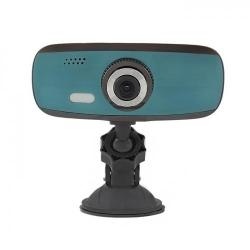 Camera Video Auto Qoltec 50204, Full HD, LCD 2.7inch, Black-Green