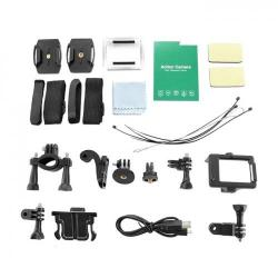Camera video sport Qoltec 50219, 2.0inch, Waterproof, Full HD, Black