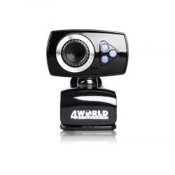 Camera Web 4World 10133 2MP, Black