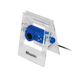Camera Web Vakoss MSONIC MR1803B, USB 2.0, Albastru