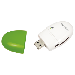 Card Reader LogiLink CR0030, USB 2.0, White-Green