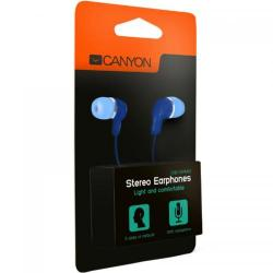 Casti cu Microfon Canyon In-Ear CNS-CEPM02BL, Blue