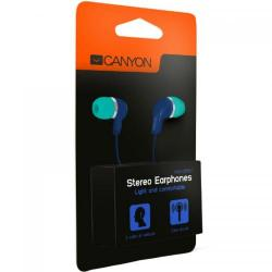 Casti cu Microfon Canyon In-Ear CNS-CEPM02GBL Green-Blue