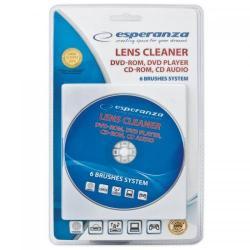 CD curăţare CD / DVD / BR Esperanza ES117