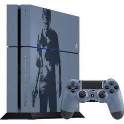 Consola Sony PlayStation 4 1TB Black + Uncharted 4: A Thief's End Limited Edition