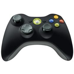 Controller Microsoft Xbox360 Wirelesss, USB, Black