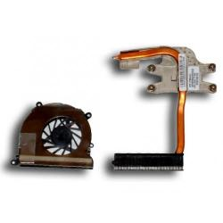 Cooler CPU Notebook HP Pavilion DV4-1000 486844-001, ventilator + radiator