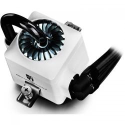 Cooler procesor Deepcool Gamer Storm Captain 240 EX RGB White, 2 x 120mm