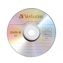 DVD-R Verbatim 16x, 4.7GB, 1 buc, Spindle, bulk