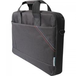 Geanta Dicallo LLM9713 pentru laptop de 15.6inch, Black