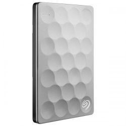 Hard Disk portabil Seagate Backup Plus Ultra Slim STEH1000200, 1TB, USB 3.0, platinum