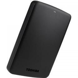 Hard Disk Portabil Toshiba Canvio Basics Series 500GB, black, 2.5inch