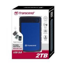 Hard Disk Portabil Transcend 25H3B 2TB, blue, 2.5inch