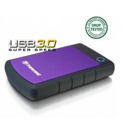 Hard Disk Portabil Transcend 25H3P 500GB, negru, 2.5inch