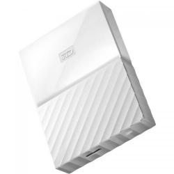 Hard disk portabil Western Digital My Passport New 4TB, White, 2.5inch
