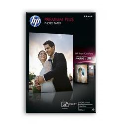 HP Premium Plus High gloss Photo Paper25sh bor