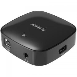 Hub USB Orico H4818-U2 USB 2.0, Black