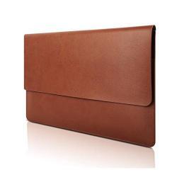 Husa Lenovo 13inch pentru Laptop Lenovo Yoga 720, Brown Leather