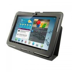 Husa/Stand 4World Ultra Slim 09103, pentru Galaxy Tab 2 10inch, Grey