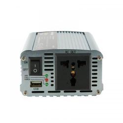 Invertor Tensiune Whitenergy 06579 DC/AC de la 12V DC la 230V AC 350W, USB