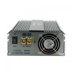Invertor Tensiune Whitenergy 06584 DC/AC de la 24V DC la 230V AC 500W, 2 receptacule AC