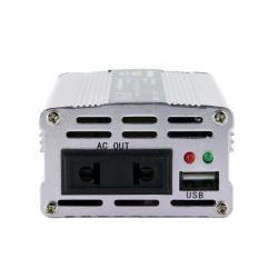 Invertor Tensiune Whitenergy 09409 DC/AC de la 12V DC la 230V AC 150W, USB , mini