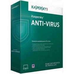 Kaspersky Anti-Virus 2017 3 user/1 an + 3 luni, Renewal Retail