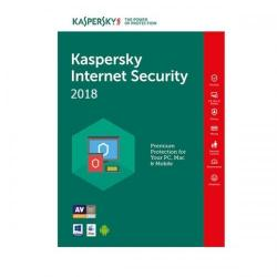 Kaspersky Internet Security 2018 3Device/1Year, Base Retail