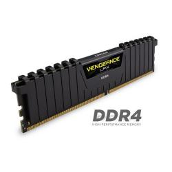 Kit Memorie Corsair Vengeance Black 64GB, DDR4-3000MHz, CL15