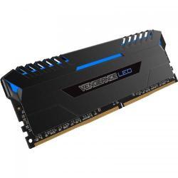 Kit Memorie Corsair Vengeance Blue LED 32GB DDR4-3200MHz, CL16, Quad Channel