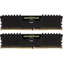 Kit Memorie Corsair Vengeance LPX Black 32GB DDR4-2666Mhz, CL16