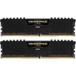 Kit Memorie Corsair Vengeance LPX Black 32GB DDR4-3000MHz, CL15
