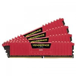 Kit Memorie Corsair Vengeance LPX Red 32GB DDR4-3000MHz, CL15