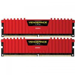 Kit Memorie Corsair Vengeance LPX Red 32GB DDR4-3200Mhz, CL16