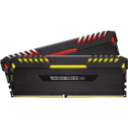 Kit Memorie Corsair Vengeance RGB LED 64GB, DDR4-4133MHz, CL19, Dual Channel