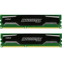Kit Memorie Crucial Ballistix Sport 8GB DDR3-1600Mhz, CL9