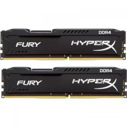 Kit Memorie Kingston HyperX Fury Black 32GB, DDR4-2400MHz, CL15