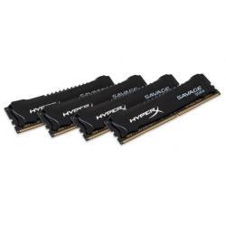 Kit Memorie Kingston HyperX Savage Black 64GB DDR4-2400Mhz, CL14