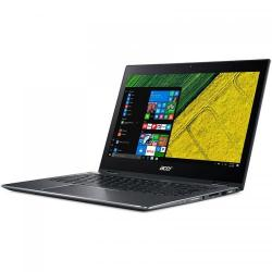 Laptop 2-in-1 Acer Spin 5 SP513-52N, Intel Core i7-8550U, 13.3inch Touch, RAM 8GB, SSD 256GB, Intel UHD Graphics 620, Windows 10, Steel Gray