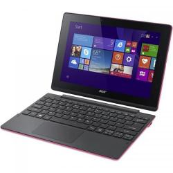Laptop 2-in-1 Acer Switch 10, Intel Atom Z3735F Quad Core, 10.1inch Touch, RAM 2GB, eMMC 64GB, Windows 10, Pink