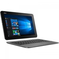 Laptop 2-in-1 Asus Transformer Book T101HA-GR001R, Intel Atom x5-Z8350, 10.1inch Touch, RAM 2GB, eMMC 32GB, Intel HD Graphics 400, Windows 10 Pro, Grey