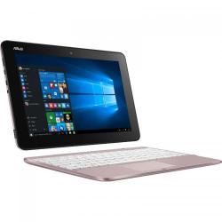 Laptop 2-in-1 Asus Transformer Book T101HA-GR007T, Intel Atom x5-Z8350, 10.1inch Touch, RAM 2GB, eMMC 64GB, Intel HD Graphics 400, Windows 10, Pink Gold